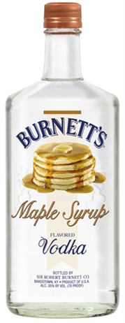 Burnetts Vodka Maple Syrup
